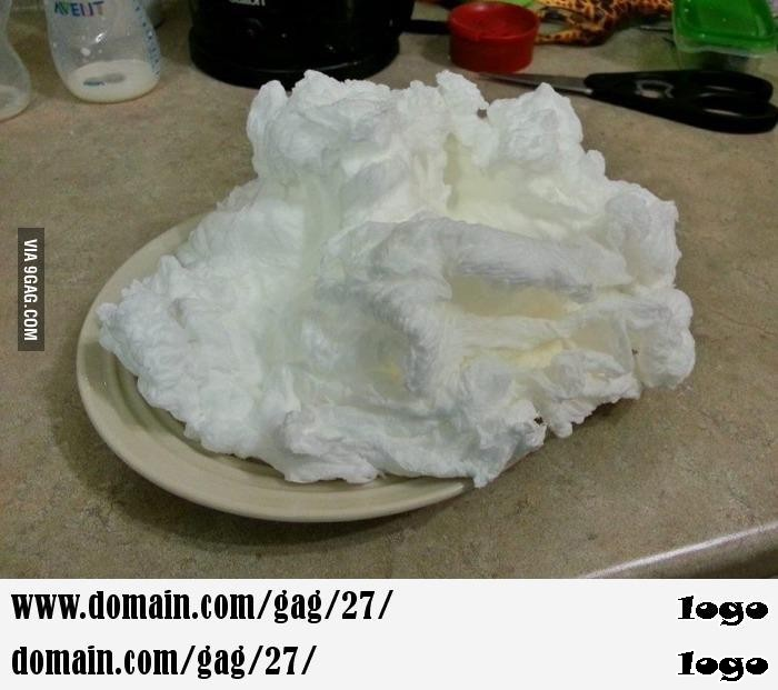 This is what happens when stick a bar of soap in the microwave
